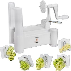 Brieftons 5-Blade Spiralizer
