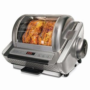 Ronco EZ Store Stainless Steel Rotisserie Oven