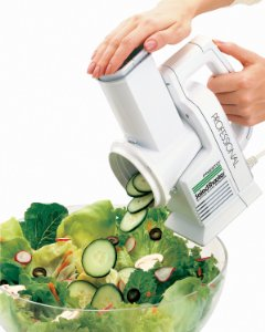 Presto Professional SaladShooter Electric Slicer Shredder