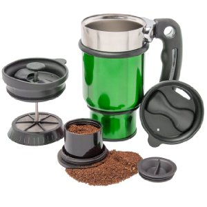 Planetary Design Double Shot French Press Travel Mug