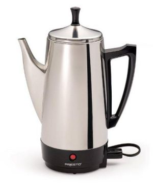 Presto 12-Cup Stainless Steel Coffee Maker