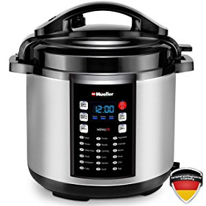 Mueller 10-in-1 Pro Series 18 Program 6Q Pressure Cooker