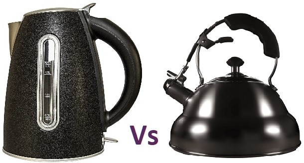 Electric Kettle Vs Stove Top Kettle